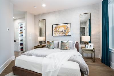 Glen Iris Home Design Atlanta, GA New Home Bedrooms