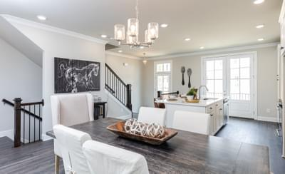 Graham Home Design Atlanta, GA New Home Dining and Breakfast Rooms