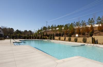 Idylwilde Community Pool Atlanta, GA New Home Amenities & Outdoor Living