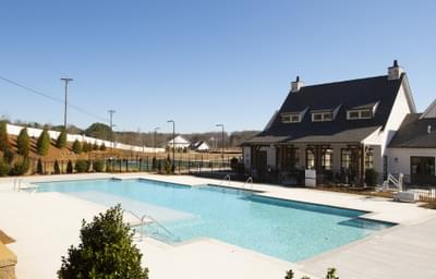 Idylwilde Clubhouse and Pool Atlanta, GA New Home Amenities & Outdoor Living