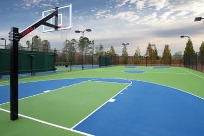 Bellmoore Park Basketball Courts Atlanta, GA New Home Amenities & Outdoor Living