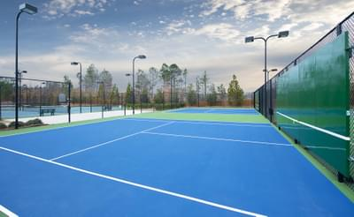 Belllmoore Park Lighted Tennis Courts Atlanta, GA New Home Amenities & Outdoor Living