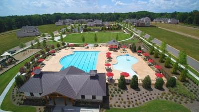 Bellmoore Park Jr Olympic Pool, Zero Entry Kids Pool, Playground and Pavilion Atlanta, GA New Home Amenities & Outdoor Living