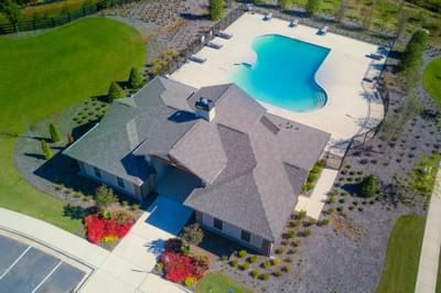 Central Park at Deerfield Township Clubhouse and Pool Atlanta, GA New Home Amenities & Outdoor Living