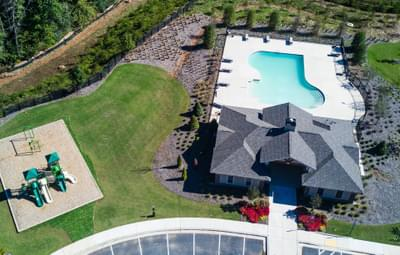Central Park at Deerfield Township Clubhouse, Pool and Playground Atlanta, GA New Home Amenities & Outdoor Living