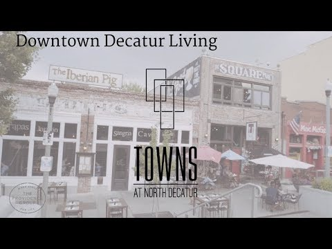Downtown Decatur Living Video