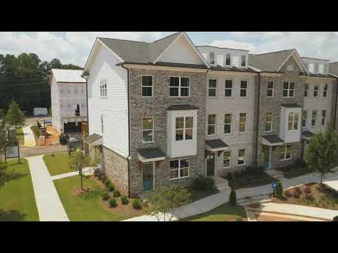 Move In Ready ITP Townhomes at Glendale Rowes Video