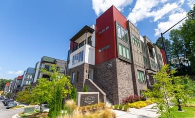 Pratt Stacks Condos Atlanta, GA New Home Exteriors