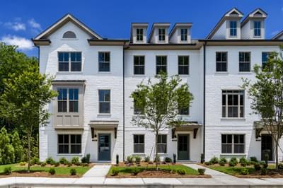 Pruitt Walk Townhomes Atlanta, GA New Home Exteriors