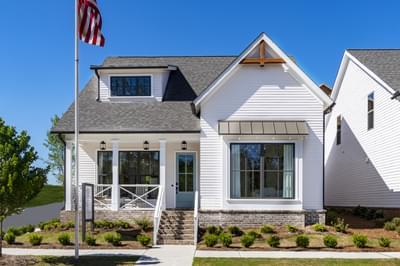 Harvest Park - Harrison Home Design Atlanta, GA New Home Exteriors