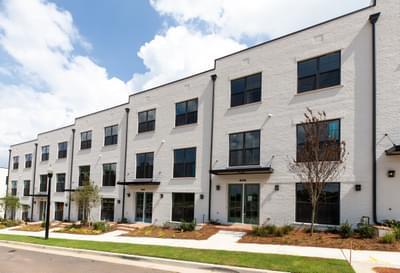 The Maxwell Townhomes Atlanta, GA New Home Exteriors