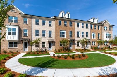 Greysolon Townhomes Atlanta, GA New Home Exteriors