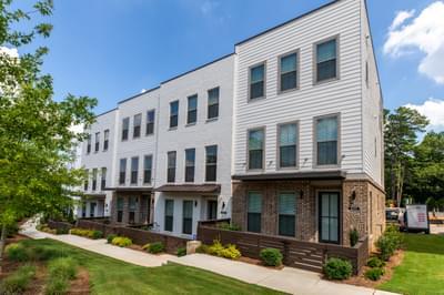 Towns at North Decatur Townhomes Atlanta, GA New Home Exteriors