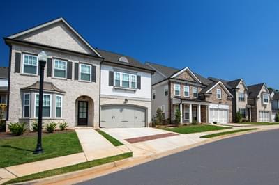 Bellmoore Park Atlanta, GA New Home Exteriors