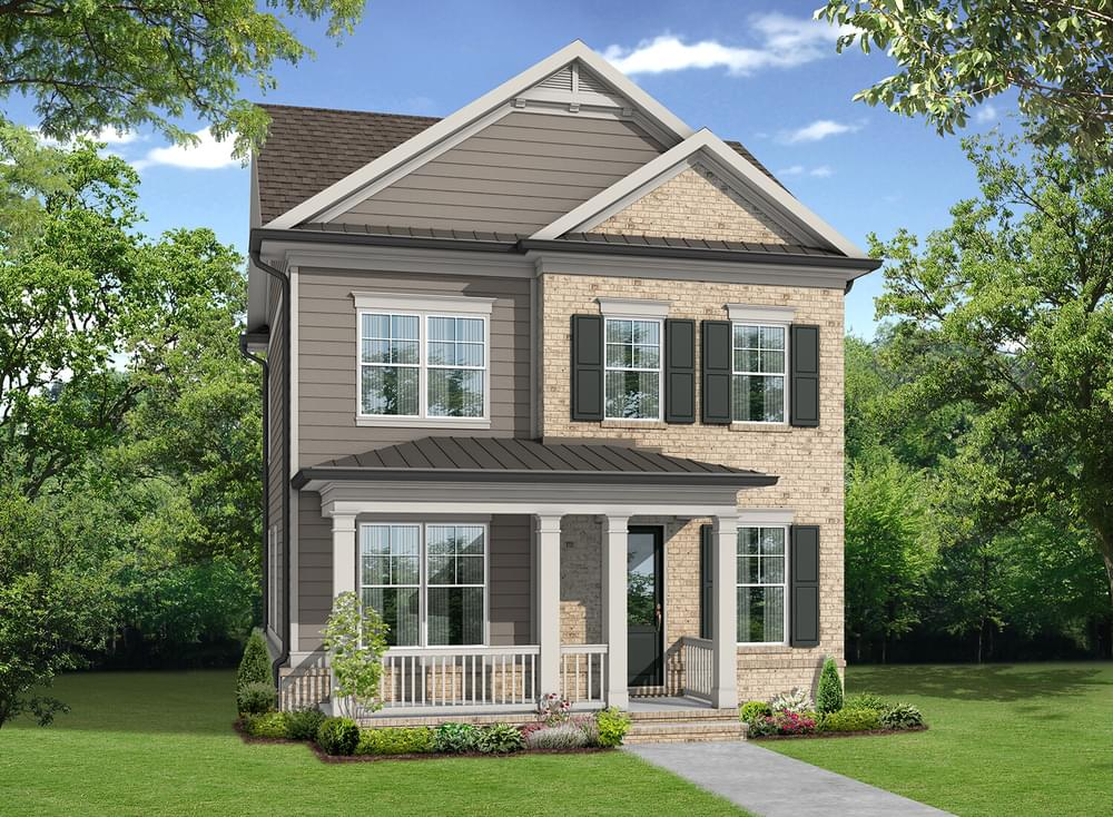 Elevation B. 3br New Home in Suwanee, GA