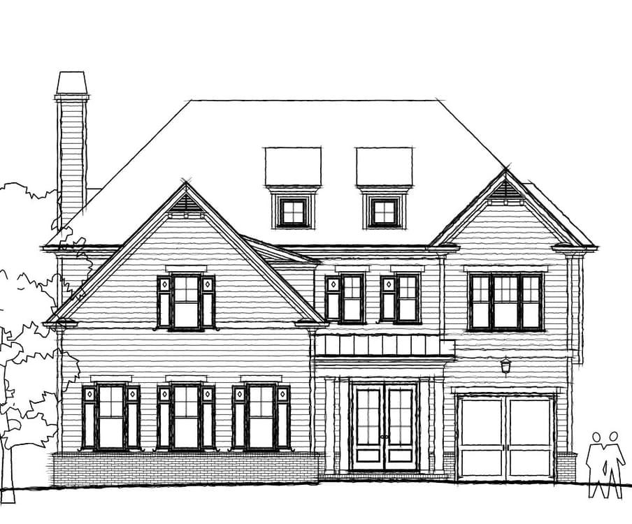 New home in Johns Creek GA
