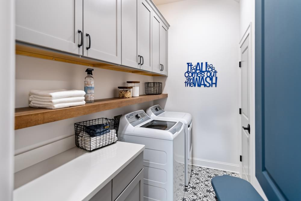 McDaniel Model Home Laundry Room. New Homes in Canton, GA