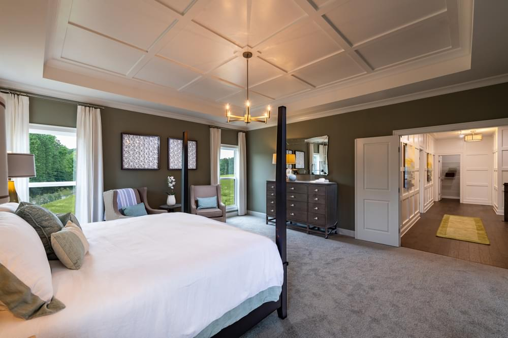 Montgomery Owner's Suite. New Homes in Canton, GA