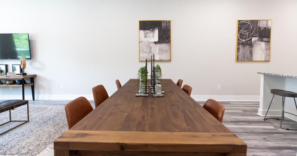 The Highland Home Design Dining Room. Towns at North Decatur New Homes in Decatur, GA