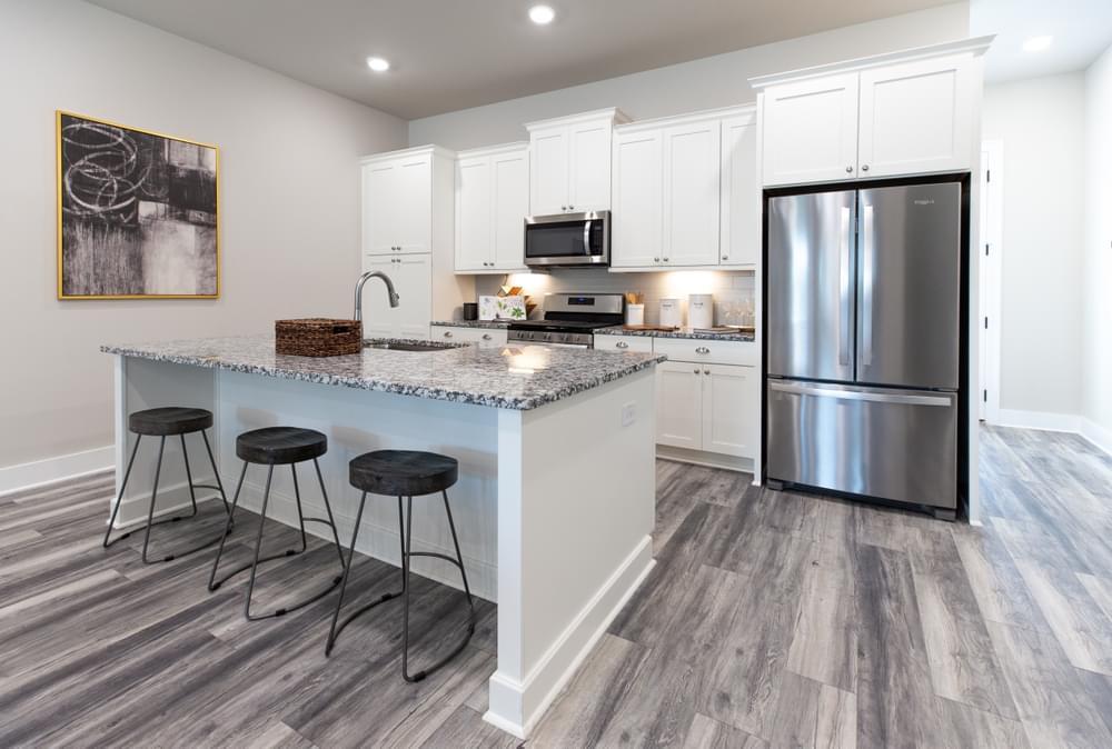The Highland Home Design Kitchen. Decatur, GA New Homes