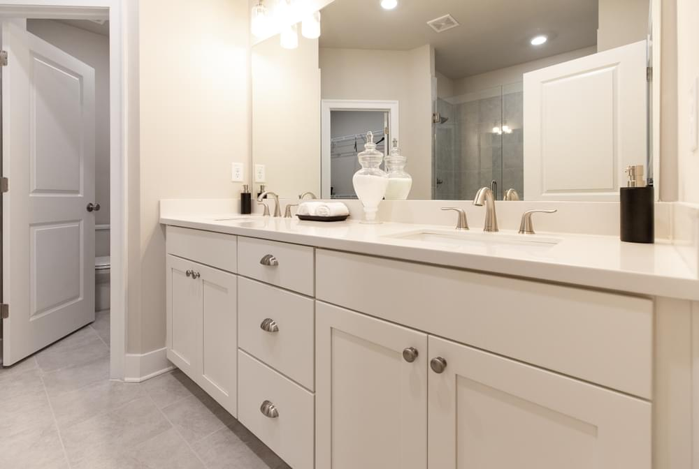 The Highland Home Design Owners Bath. New Homes in Decatur, GA