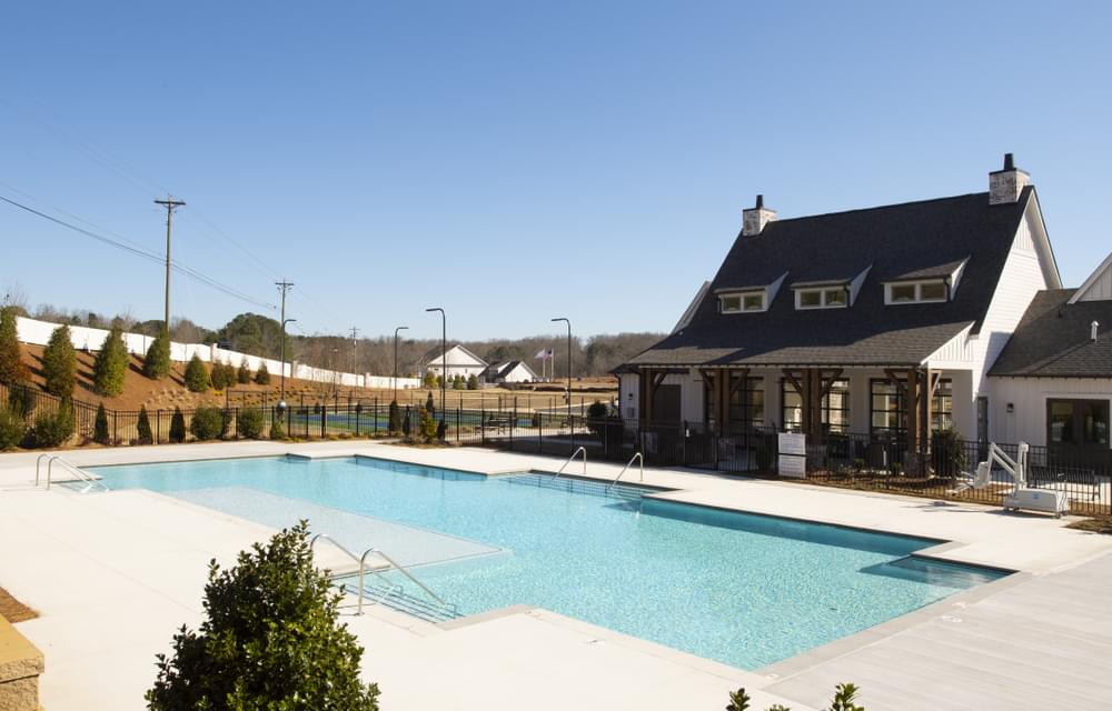 Idylwilde Clubhouse and Pool. New Homes in Canton, GA