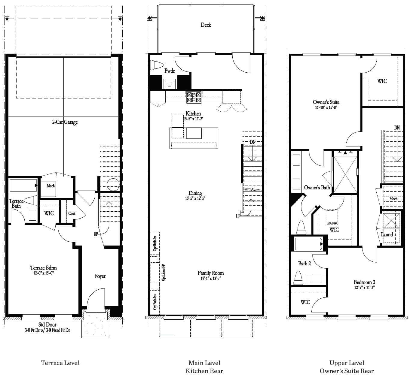 Floor Plans. Decatur, GA New Home
