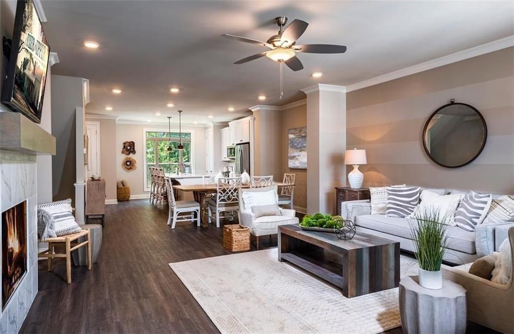 3832 Firewood Lane, 107 New Home for Sale in Suwanee GA