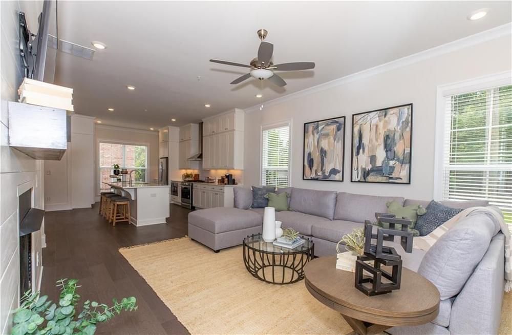 1186 Farmstead Road, 78 New Home for Sale in Suwanee GA