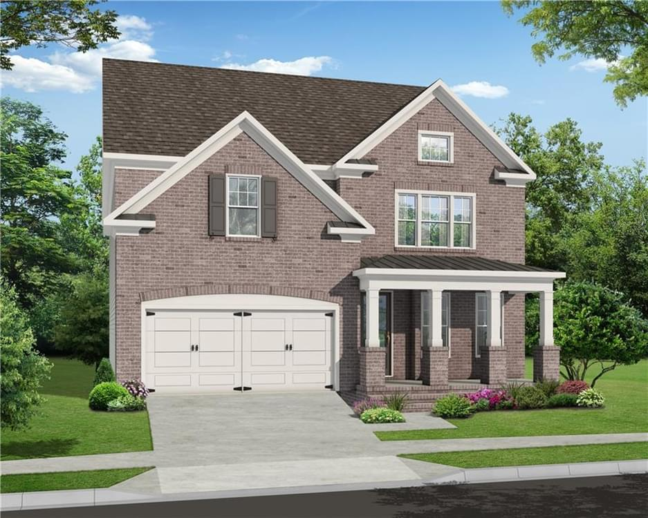910 Pennington View Lane New Home for Sale in Alpharetta GA