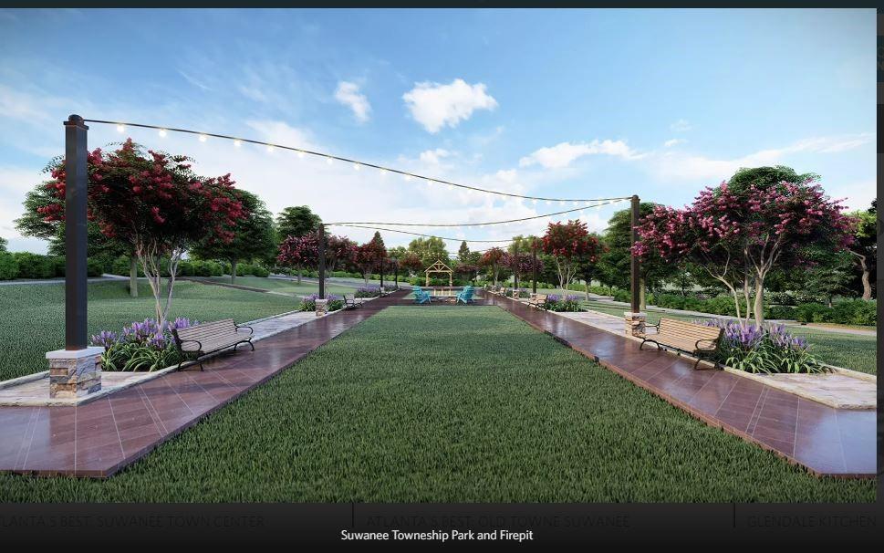 Future Amenity plan to be built - Rendering of Amenity Plan. New Home in Suwanee, GA