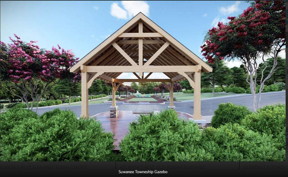 Rendering of Future amenity plan - To be built. 265 Sims Park Place, 7, Suwanee, GA