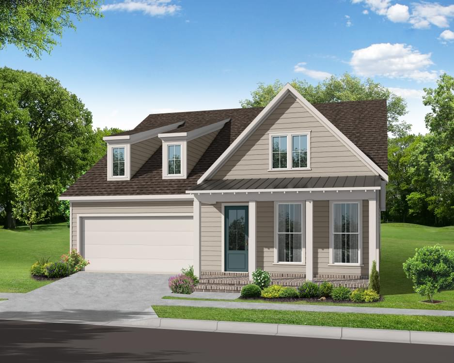 Elevation D. 3br New Home in Canton, GA