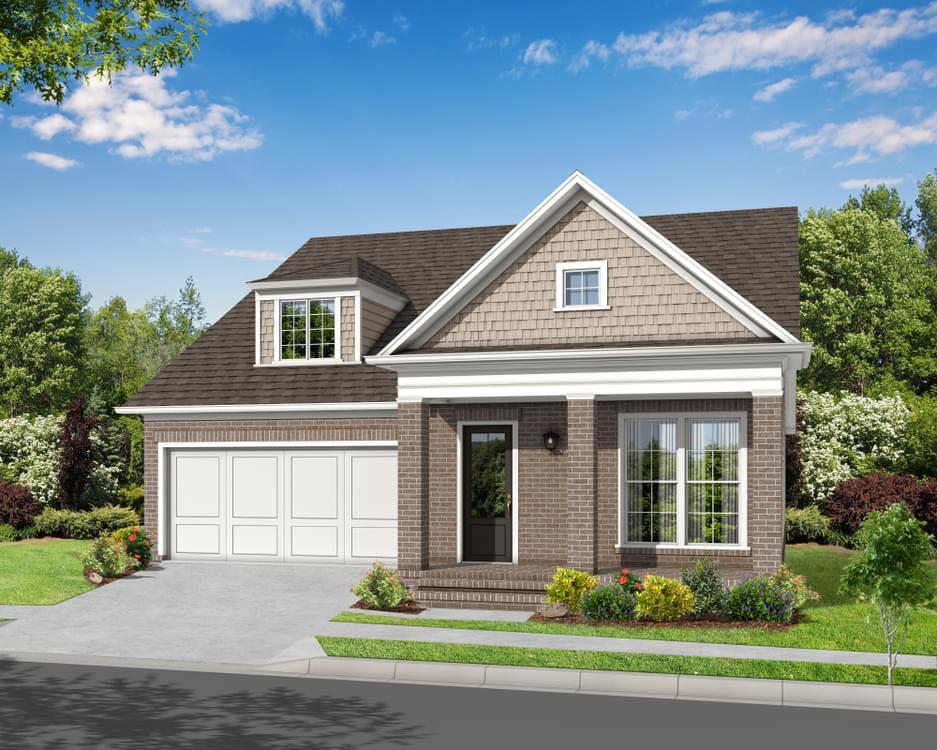 Elevation H. Johns Creek, GA New Home