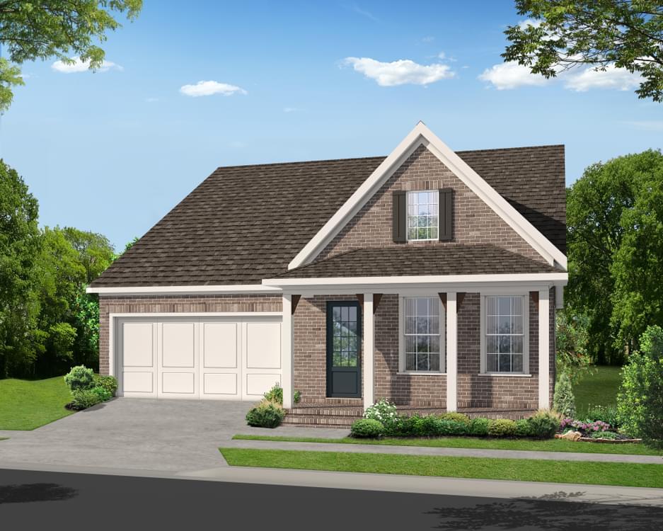 Elevation F. 2,594sf New Home in Johns Creek, GA