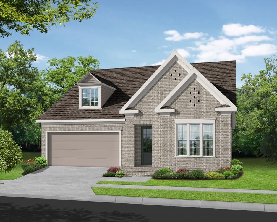 Elevation G. New Home in Suwanee, GA