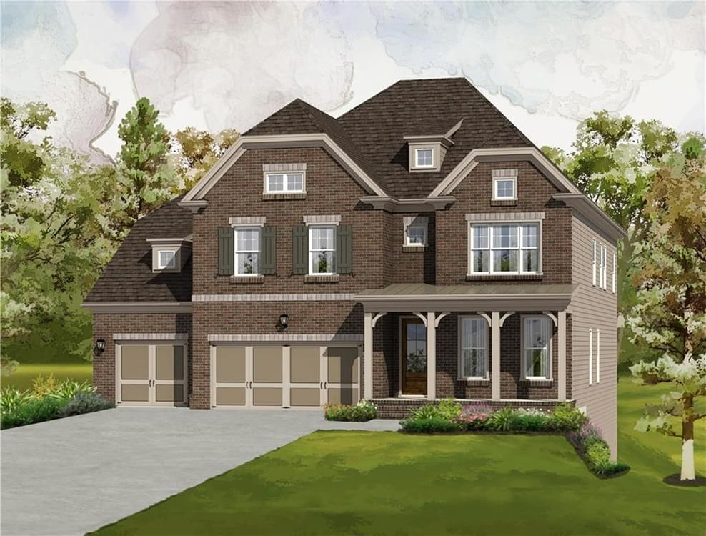 7000 Grandview Overlook New Home for Sale in Johns Creek GA