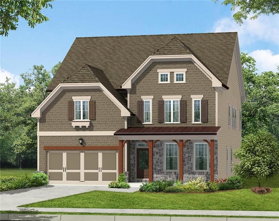 1300 Cauley Creek Overlook New Home for Sale in Johns Creek GA