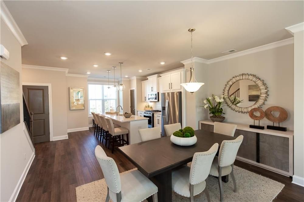 1318 Bennett Creek Overlook, 145 New Home for Sale in Suwanee GA