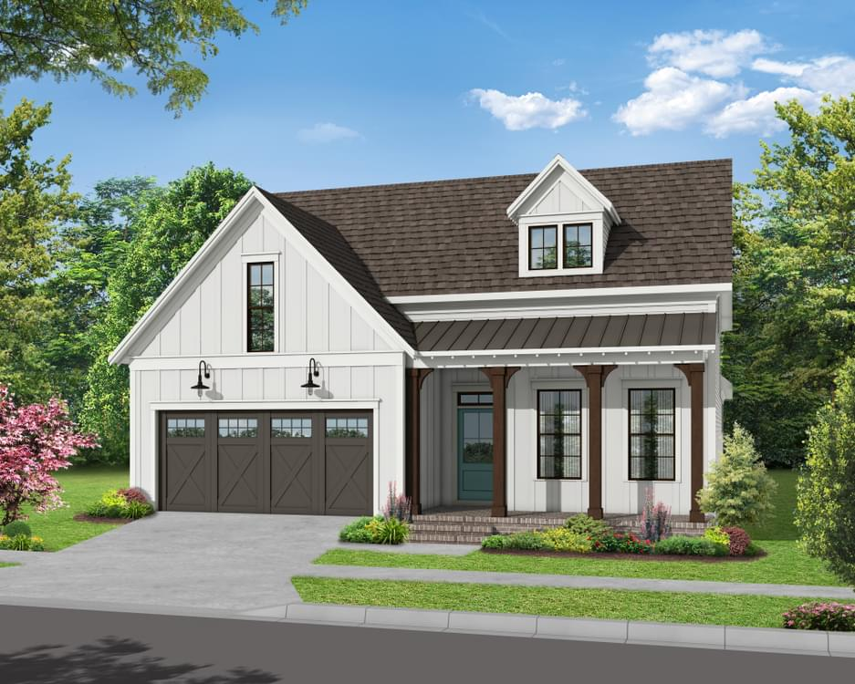 Elevation C. The Bayfield New Home in Canton, GA