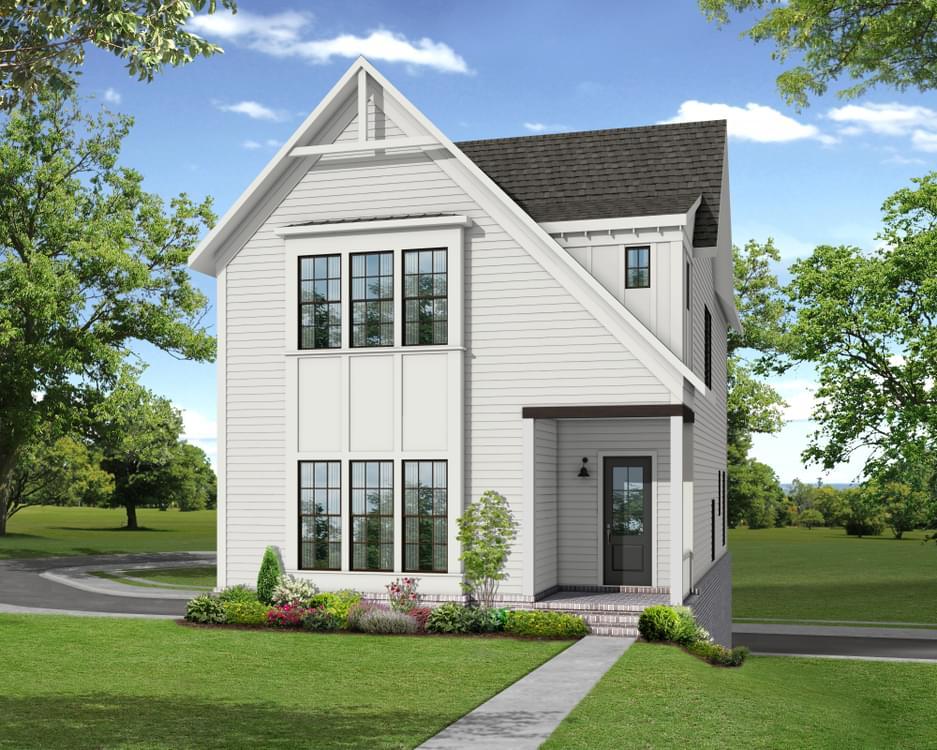 Elevation G. Suwanee, GA New Home