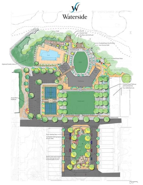 Waterside New Homes in Peachtree Corners, GA