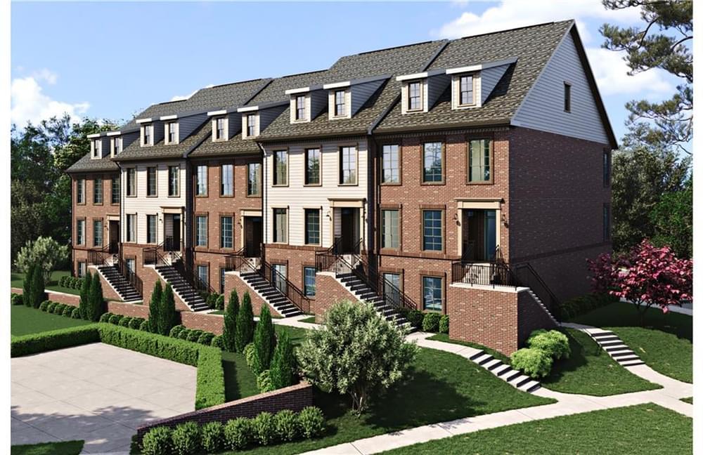 527 Burton Drive, 706 New Home for Sale in Alpharetta GA