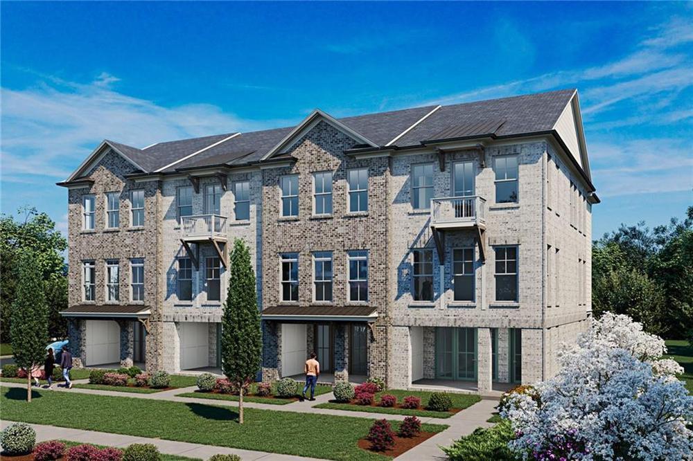 514 Clover Lane, 70 New Home for Sale in Alpharetta GA