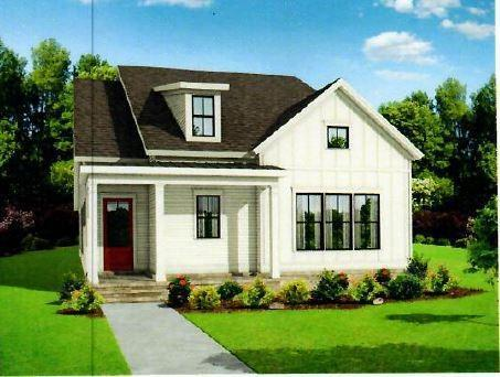 Open floor plan Master on main and large guest bedroom on main with full bath and walk in closet. New Home in Canton, GA