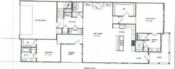 large secondary bedrooms and oversized loft area. Tons of storage. 3br New Home in Canton, GA