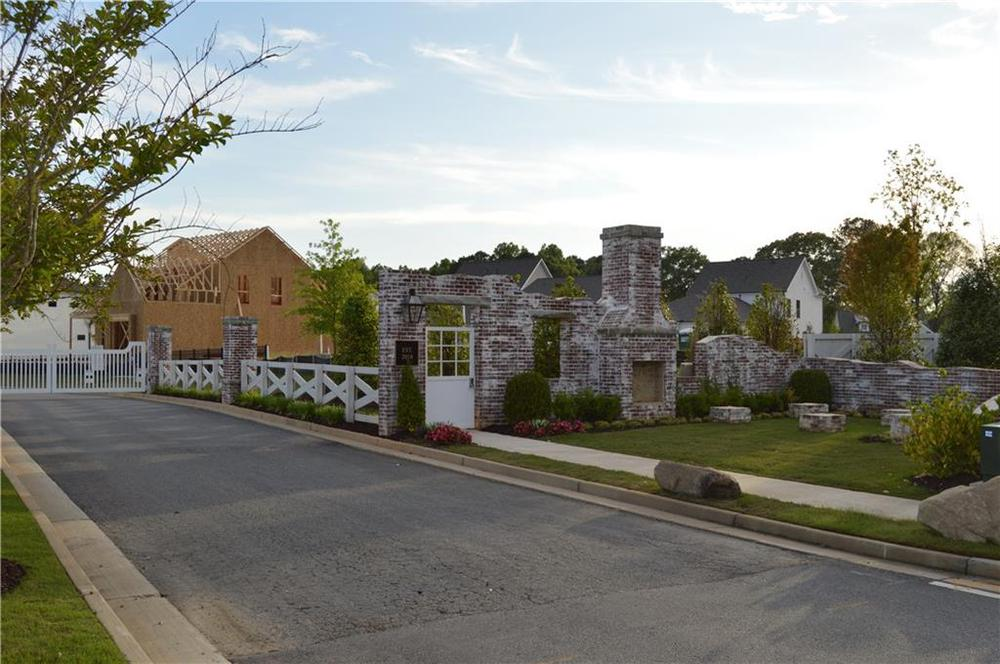 Gated and quiet community by The Providence Group . Canton, GA New Home