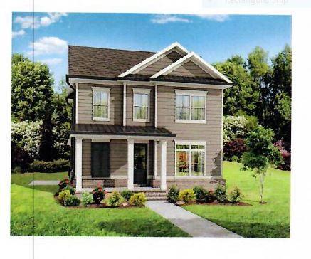 The Charleston C floor plan- Master on Main and 3 beds up! Canton, GA New Home