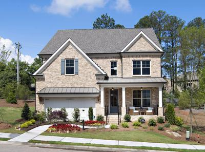 A Luxury Lifestyle in a New Forsyth County Home