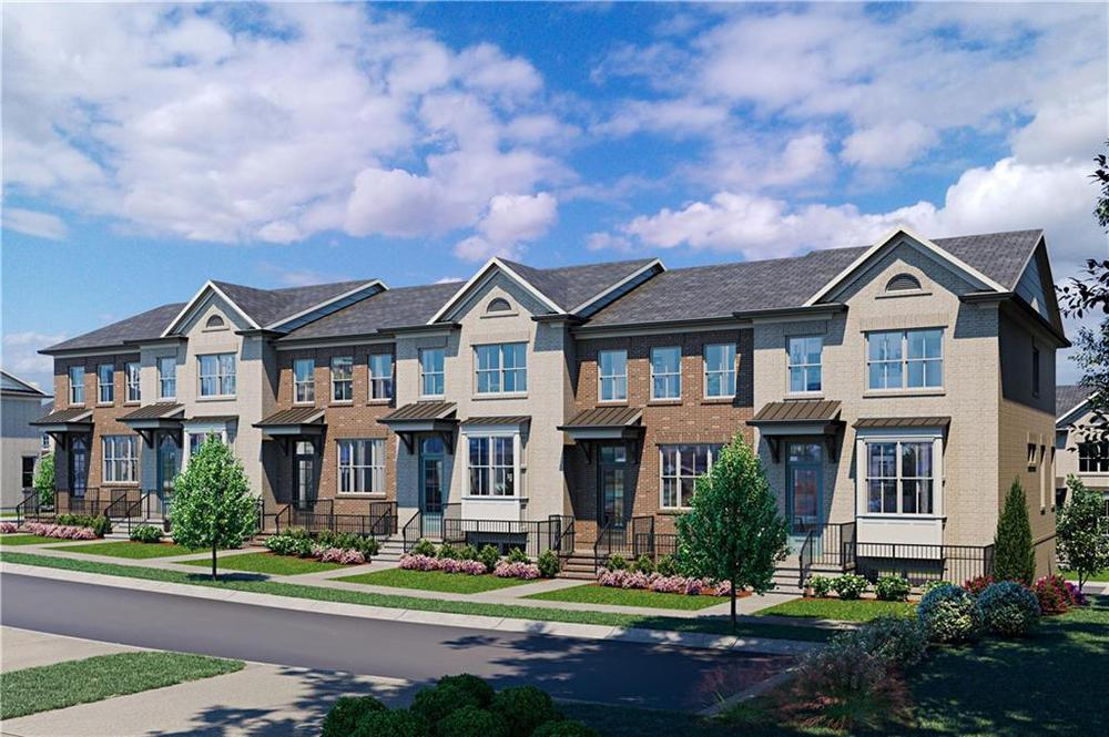 Garwood Floor Plan By The Providence Group . 1,903sf New Home in Duluth, GA
